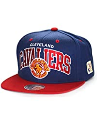85c0b1658902a Mitchell   Ness Gorras Cleveland Cavaliers Team Arch Navy Red Snapback