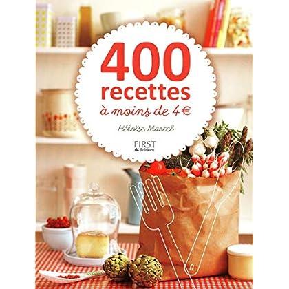 400 recettes à moins de 4 euros