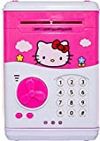 #9: Pink Money Safe with Smart Lock Piggy Bank ATM for Kids by SaShi (Color and Design may vary)