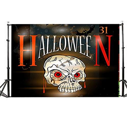 (TianranRT Halloween Kulisse 5x3FT Laterne Hintergrund Fotografie Atelier Dekoration (I))