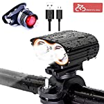 51zKIbytO1L. SS150 Nestling Luci per Bicicletta, Luci LED per Bicicletta Ricaricabili USB, Set luci Bici Impermeabili IP65,Luce Bici…