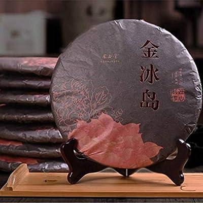 357g (0.787lb) Jiningdao Tea Pu'er thé cuit thé mûr Vieil arbre du Yunnan Grand puer Thé noir thé Pu-erh thé puerh thé