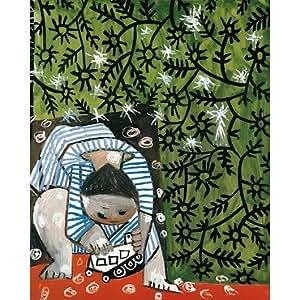 Paris - Musée Picasso - Enfant jouant avec un camion - Reproduction 24 x 30 cm à fond perdu