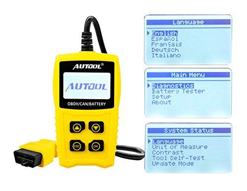 Auto Codeleser CS330 Scan für OBDII / EOBD / CAN Automotive Scanner Auto OBD2 Diagnose Tool Unterstützung Analysieren Autobatterie Spannung Genau - 9