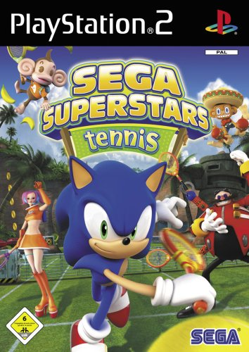 Sega Superstars Tennis (Sonic Spiele Ps2)