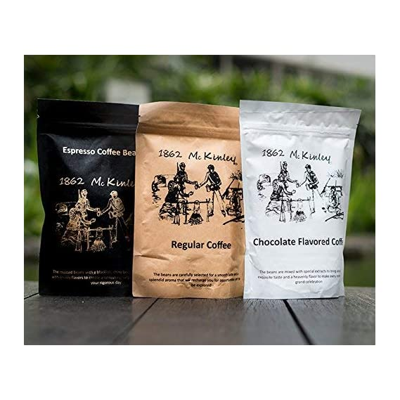 1862 mckinley Coffee, Espresso, Filter Coffee, Specially Roasted for Aroma