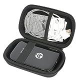 per HP Sprocket stampante fotografica portatile EVA Difficile Caso Viaggiare trasportare sacchetto by Khanka