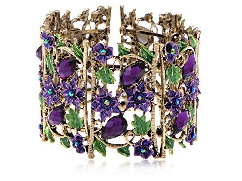 violette-africaine-champs-de-fleurs-amethyste-cristal-strass-bracelet