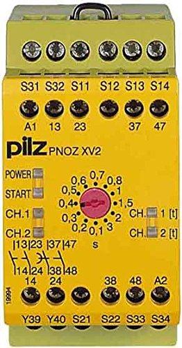 Pilz Not-Aus-Schaltgerät PNOZ XV2#774500 30/24VDC 2n/o 2n/o t Gerät zur Überwachung von sicherheitsgerichteten Stromkreisen 4046548011241