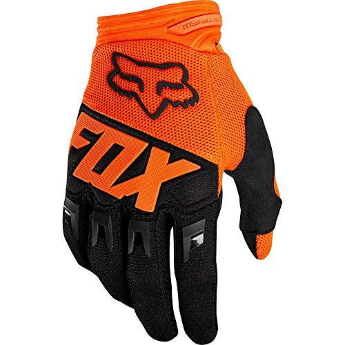 Fox Guanti Junior Dirtpaw Race, Arancione, Taglia yxs