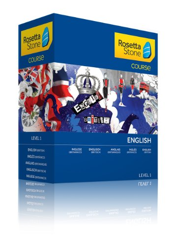 Rosetta Stone Course - Einstiegsniveau Englisch (Britisch) Level 1-Discontinued from manufacturer