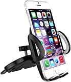 Car Mount, CHOETECH Universal CD Slot Mount Cell Phone Holder 360 Degree Rotation Smart Phone Mount For GPS, iPhone 7, 7Plus, Samsung, LG, HTC and more
