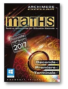 MATHS - Archimède Excellium 2017 pour Windows (XP, 7, 8, 10)