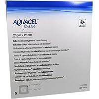 AQUACEL Foam adhäsiv 21x21 cm Verband 5 St Verband preisvergleich bei billige-tabletten.eu