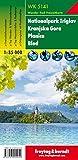 Nationalpark Triglav - Kranjska Gora - Planica - Bled, Wanderkarte 1:35.000, WK 5141, freytag & berndt Wander-Rad-Freizeitkarten - Freytag-Berndt und Artaria KG