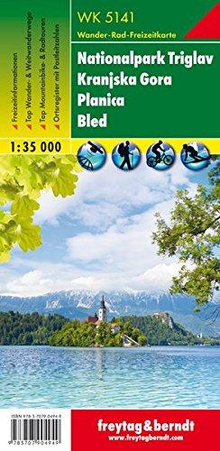 Triglav Kranjska Gora 1:35.000: Wandel- en fietskaart 1:35 000 (Wander Karte)