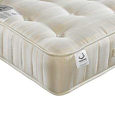 Happy Beds Supreme Ortho Firm Orthopaedic Boonell Spring Tufted Mattress - inexpensive UK light store.