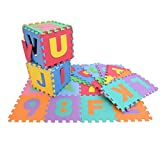 #3: Toyshine Foam Hopscotch Letters and Numbers Puzzle Mat - 36 Pieces