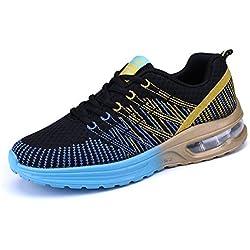 Zapatos de Running Para Mujer Zapatillas Deportivo Outdoor Calzado Asfalto Sneakers Negro 36