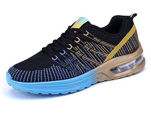 Zapatos de Running Para Mujer Zapatillas Deportivo Outdoor Calzado Asfalto Sneakers Negro 39