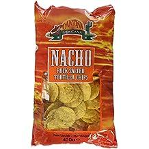 Cantiña Mexicana - Nacho - Chips de Tortilla - 450 g - [Pack de 3]