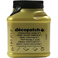 Decopatch VA180 Aquapro barniz decorativo satinado 180 ml