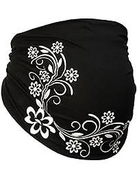 La Belly Bauchband schwarz Umstandsmode Blütenmeer