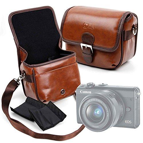 Galleria fotografica DURAGADGET Borsa Vintage Per fotocamera Canon EOS M100 | Lomo Instant - Con Tracolla Regolabile - Alta Qualità