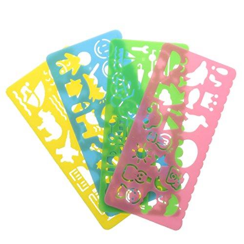 4pcs-assortis-etudiant-plastique-enfant-gabarits-de-dessin-regle-multicolore