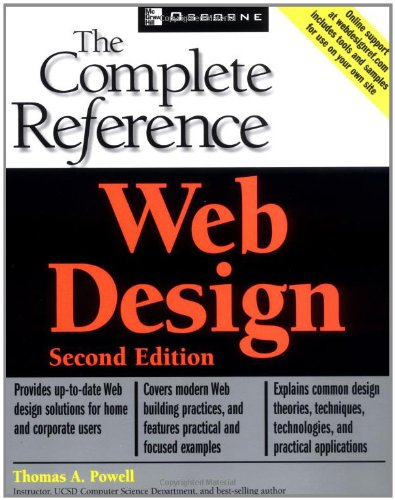 Web Design Complete Reference