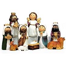 759d3d7f146 Belén de Navidad Moderno Resina para decoración navideña Christmas -  LOLAhome