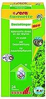Sera Florenette Traitement d'Eau pour Plante d'Aquarium pour Aquariophilie 24 Pastilles