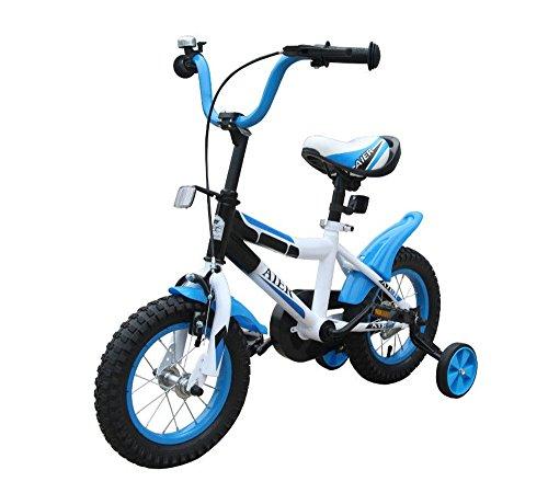 Kinderfahrrad 12 Zoll Blau Fahrrad mit Stützrädern JugendFahrrad Kinderfahrräder /ab 3 Jahren Kinder Fahrrad Klassik
