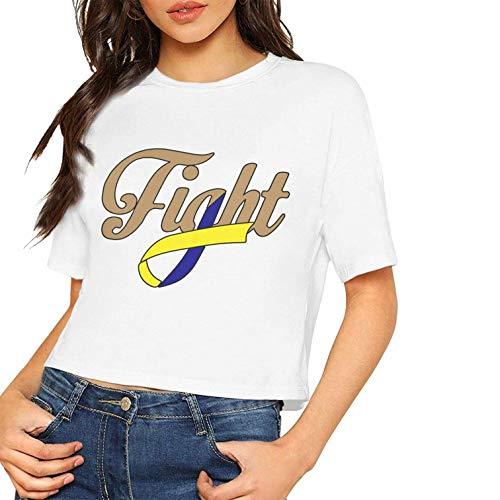 Las Camisetas Manga Corta Atractivas Las Mujeres luchan