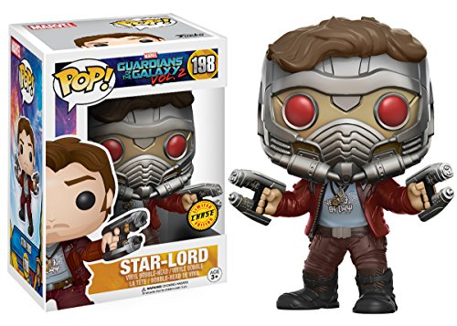 Funko - Star Lord figura de vinilo, colección de POP, seria Guardians of the Galaxy 2 (12784), 1 unidad, modelo surtido 3