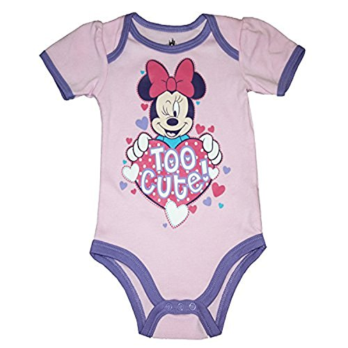 Cute Baby Dress Up Outfits - Minnie Mouse Too Cute Herz Baby