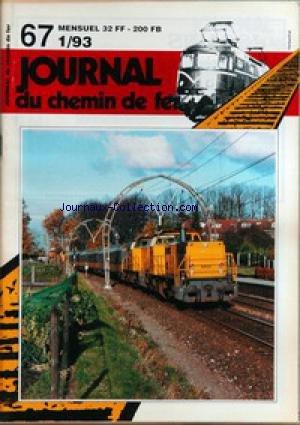 JOURNAL DU CHEMIN DE FER [No 67] du 01/01/1993 -