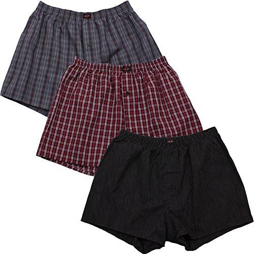 3er Pack Web-Boxer Shorts für Herren auch in Übergröße Nr. 436