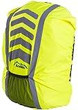 Andes - Housse de protection pour sac à dos - anti-pluie/haute visibilité - running/cyclisme - Jaune