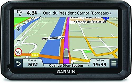 Garmin Dezl 770LMT - GPS pour Poids Lourds - 7 Pouces - Cartes Europe 45 pays - Cartes et Trafic gratuits à vie - Itinéraires personnalisés - Appels Mains Libres