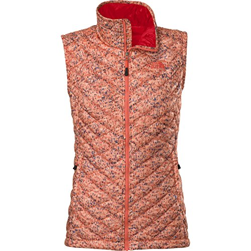 The North Face Thermoball - Giacca termica Gilet - Confetti Stampa, Piccolo, donna, Thermoball, Punch Confetti Print, S