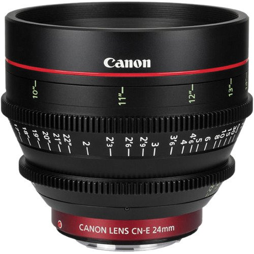 Canon cn-e 24mm t1.5l F cine Lens