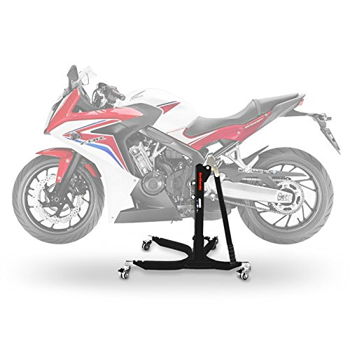 ConStands Power Classic-Zentralständer Honda CBR 650 F 14-18 Schwarz Matt Motorrad Aufbockständer Heber Montageständer