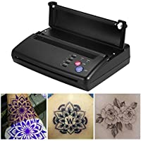 Máquina de Tatuaje Copiadora Profesional Máquina de Tatuaje A5-A4 Impresora de Transferencia Térmica Copiadora de Plantilla Tatuaje para Impresora de Papel