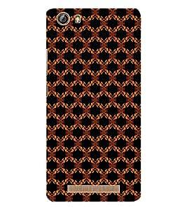EPICCASE flowery knots Mobile Back Case Cover For Gionee Marathon M5 lite (Designer Case)