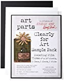 """Wendy Vecchi Cleary For Art Sheets Sample Pack 3/Pkg-Clear, Blackout, Whiteout, 8""""X10"""""""