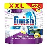 Finish Calgonit Quantum Citrus, Spülmaschinentabs, XXL Pack, 52 Tabs