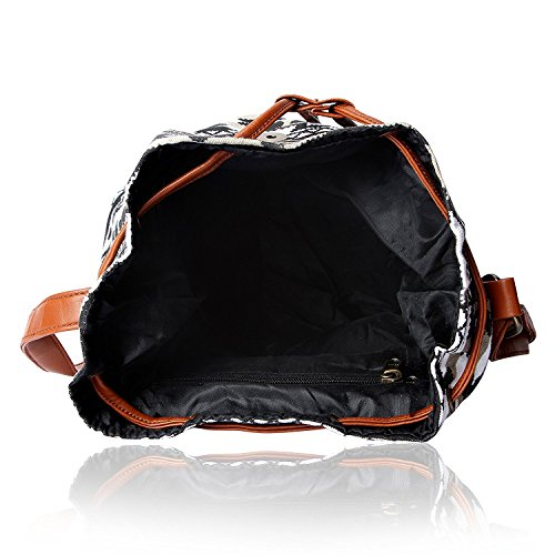 Kleio Women's Sling Bag (Multicolor,Bnb316Ly-Bwb) Image 6