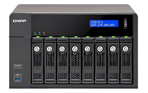 QNAP TVS-871-i5-8G Business - high end NAS Rack