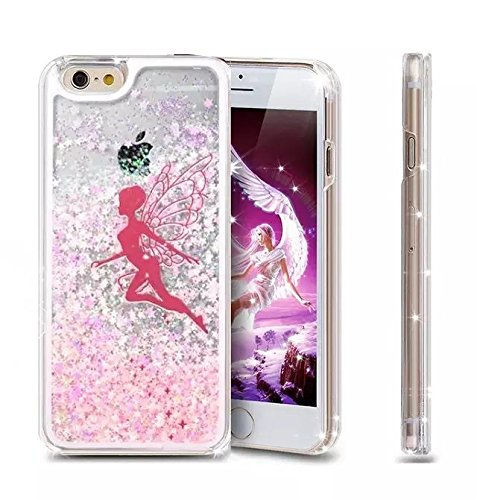 iPhone 6 Case Sunsline Owls, iPhone 6 4.7 Case, i6 Cover, Lantier 3 in 1 Combo Tuff Hybrid Armor Shockproof Cover Skin Protective Case for iPhone 6 4.7inch/Pink Pink Angel Flying